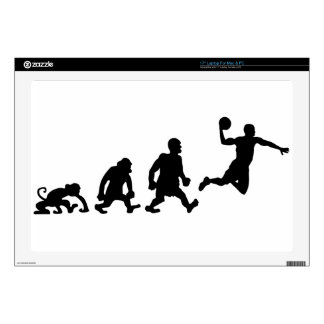 "basketball 17"" laptop decal"