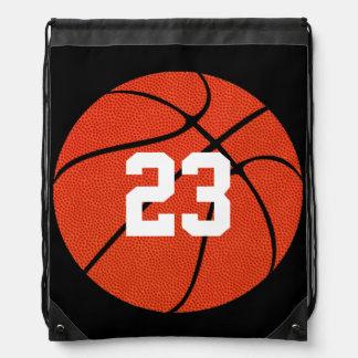 Basketball Skin Custom Number/Text Drawstring Bag
