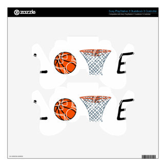 Basketball Skin For PS3 Controller