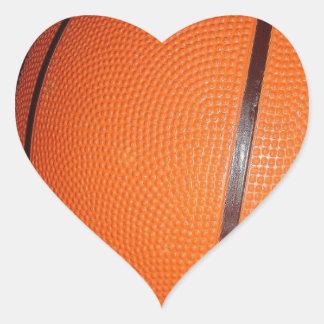 Basketball Skin Heart Sticker