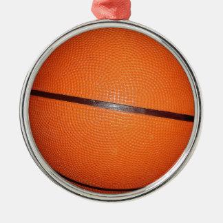 Basketball Skin Metal Ornament