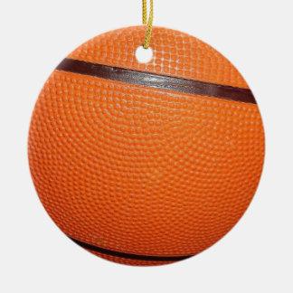 Basketball Skin Christmas Ornament