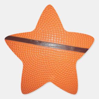 Basketball Skin Star Sticker
