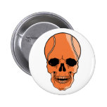 Basketball Skull Buttons