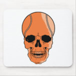 Basketball Skull Mouse Pad