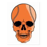 Basketball Skull Post Cards