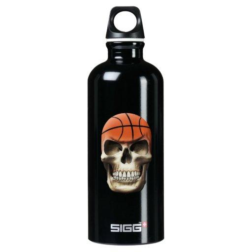 Basketball Skull SIGG Traveler 0.6L Water Bottle