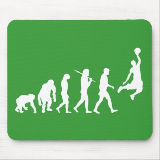 Basketball slam dunk evolution of basketball gift mouse pad