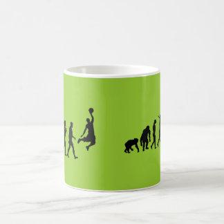 Basketball slam dunk evolution of basketball gift coffee mugs