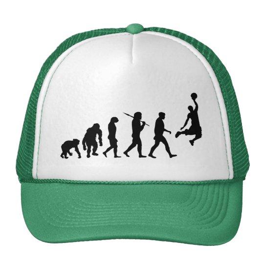 Basketball slam dunk evolution of basketball gift trucker hat