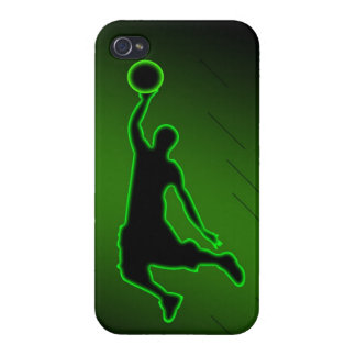 Basketball Slam Dunk iPhone 4 Cases