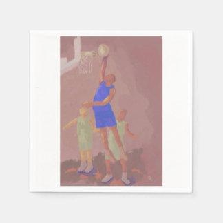 Basketball Slam Dunk Napkin