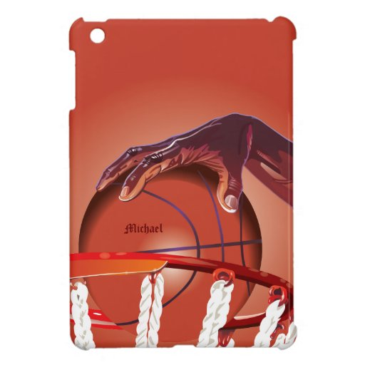 Basketball Slam Dunk Point iPad Case