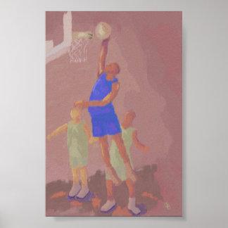 Basketball Slam Dunk, Poster