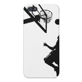 Basketball Slam Dunk Silhouette Case For iPhone SE/5/5s
