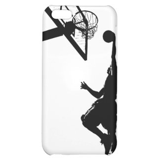 Basketball Slam Dunk Silhouette iPhone 5C Case