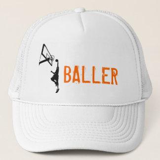 Basketball Slam Dunk Silhouette Trucker Hat