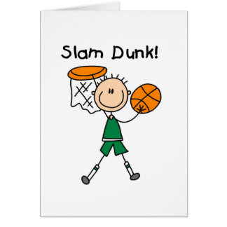 Basketball Slam Dunk T-shirts and Gifts Card