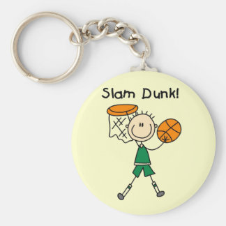 Basketball Slam Dunk T-shirts and Gifts Keychain