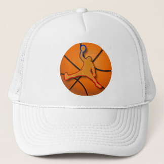 BASKETBALL SLAM DUNK TRUCKER HAT