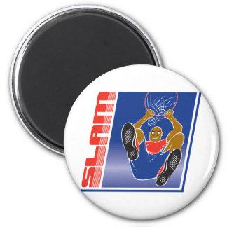 Basketball Slam Fridge Magnet