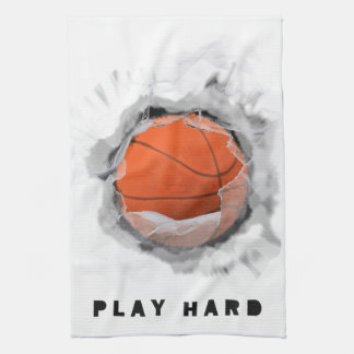 Basketball Slamdunk Hand Towels