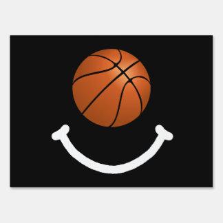 Basketball Smile Signs