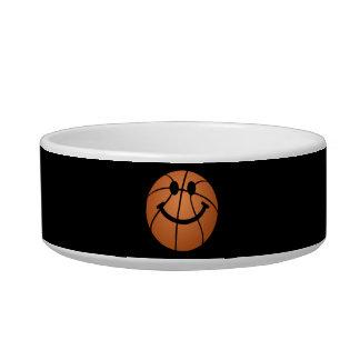 Basketball smiley face bowl