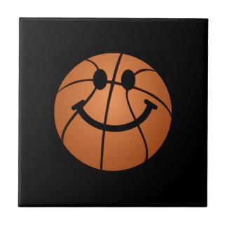 Basketball smiley face ceramic tiles