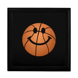 Basketball smiley face jewelry box