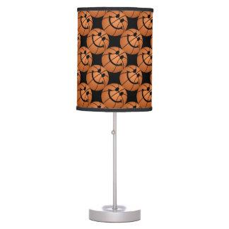 Basketball smiley face pattern desk lamp