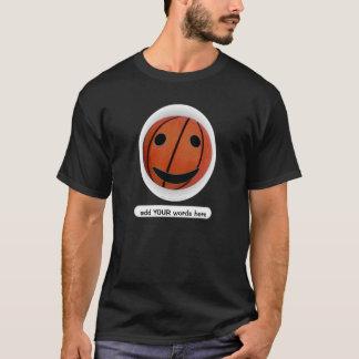 Basketball Smiley T-Shirt