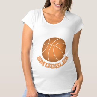 Basketball Smuggler Maternity T-Shirt