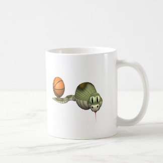 Basketball-Snake Classic White Coffee Mug