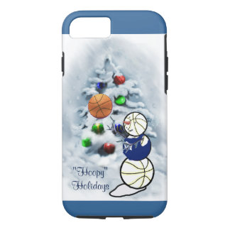 Basketball Snowman Christmas iPhone 8/7 Case