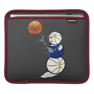Basketball Snowman iPad Sleeve