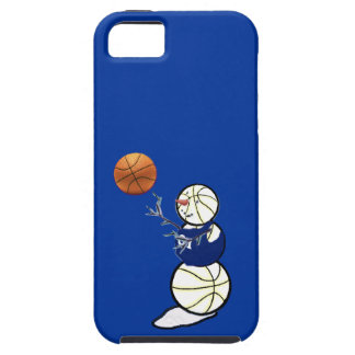 Basketball Snowman iPhone SE/5/5s Case