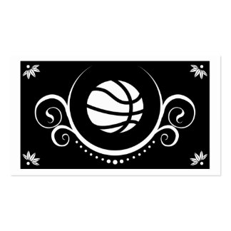 basketball sophistications business card template