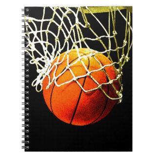 Basketball Spiral Notebook