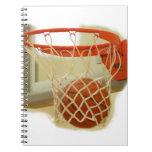 Basketball Spiral Notebooks