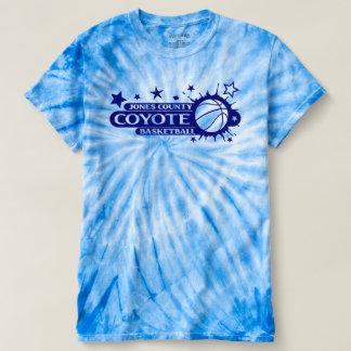 Basketball Splash in blue T-shirt