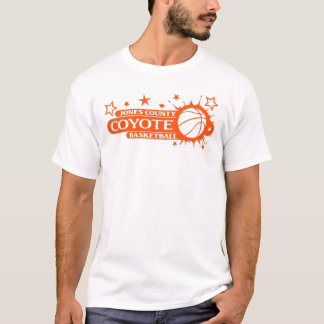Basketball Splash in orange T-Shirt