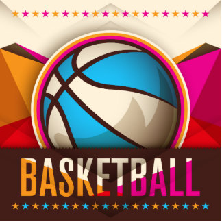 Basketball Sport Ball Game Cool Abstract Statuette