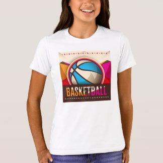Basketball Sport Ball Game Cool Abstract T-Shirt