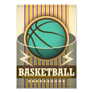 Basketball Sport Ball Game Cool Card