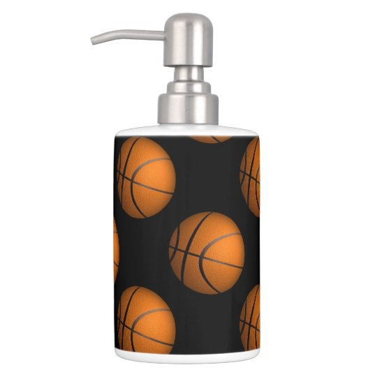 Basketball Sport Bathroom Accessories Set