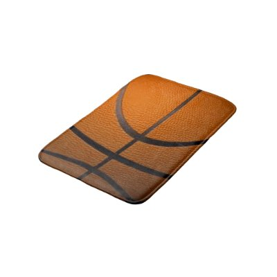 Basketball Sport Design Bath Mat