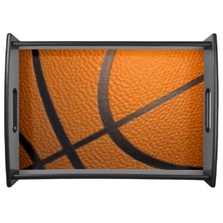 Basketball Sport Design Serving Tray