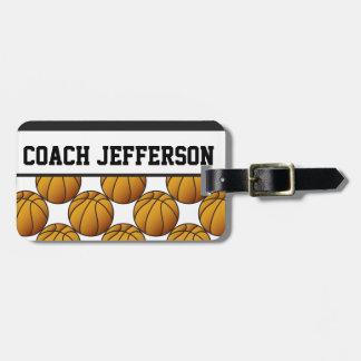 Basketball Sport | DIY Text Bag Tag