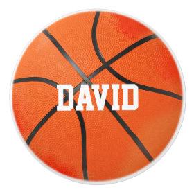 Basketball | Sport Gifts Ceramic Knob
